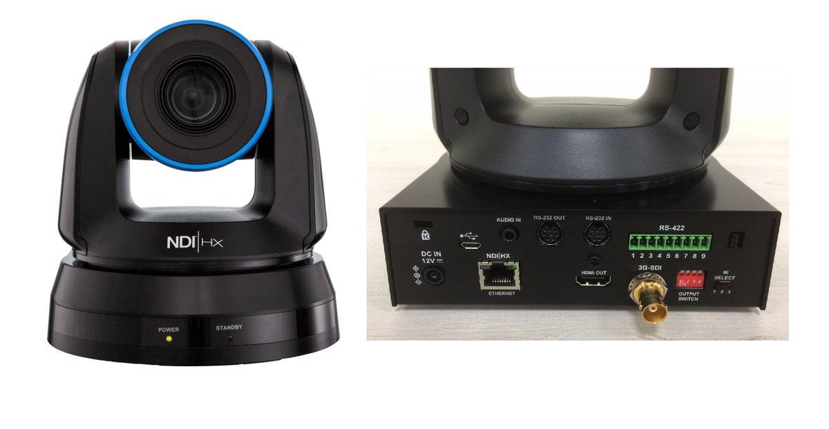 The first NDI®-native plug&play robotic 3G 1080p camera is here - NewTek NDI PTZ Camera: https://t.co/JZN7tMqWNF https://t.co/G210EuY4SJ