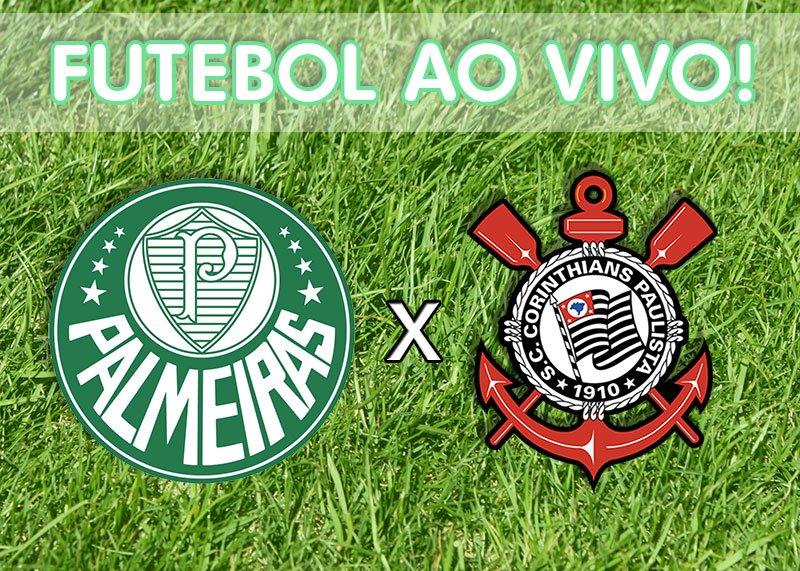 Hoje tem clássico no #FutebolNaGlobo! 👏⚽ Palmeiras e Corinthians se enfrentam na 13ª rodada do Brasileirão. Quem leva a melhor?