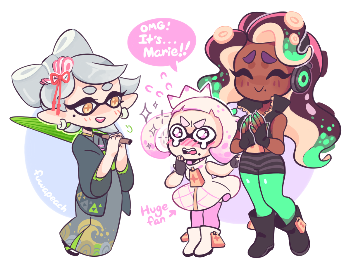 Fuwa🍑 On Twitter Quot Marina And Pearl Are Both Good And I