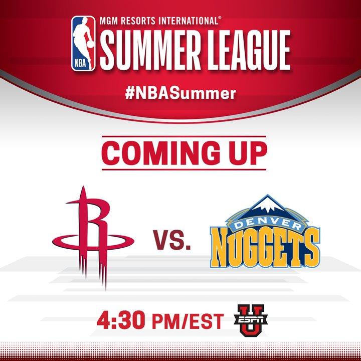 Houston Rockets Vs Denver Nuggets: Houston Rockets (@HoustonRockets)