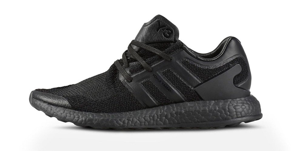 y 3 drapes the adidas pure boost in stealthy triple black fe46b5872
