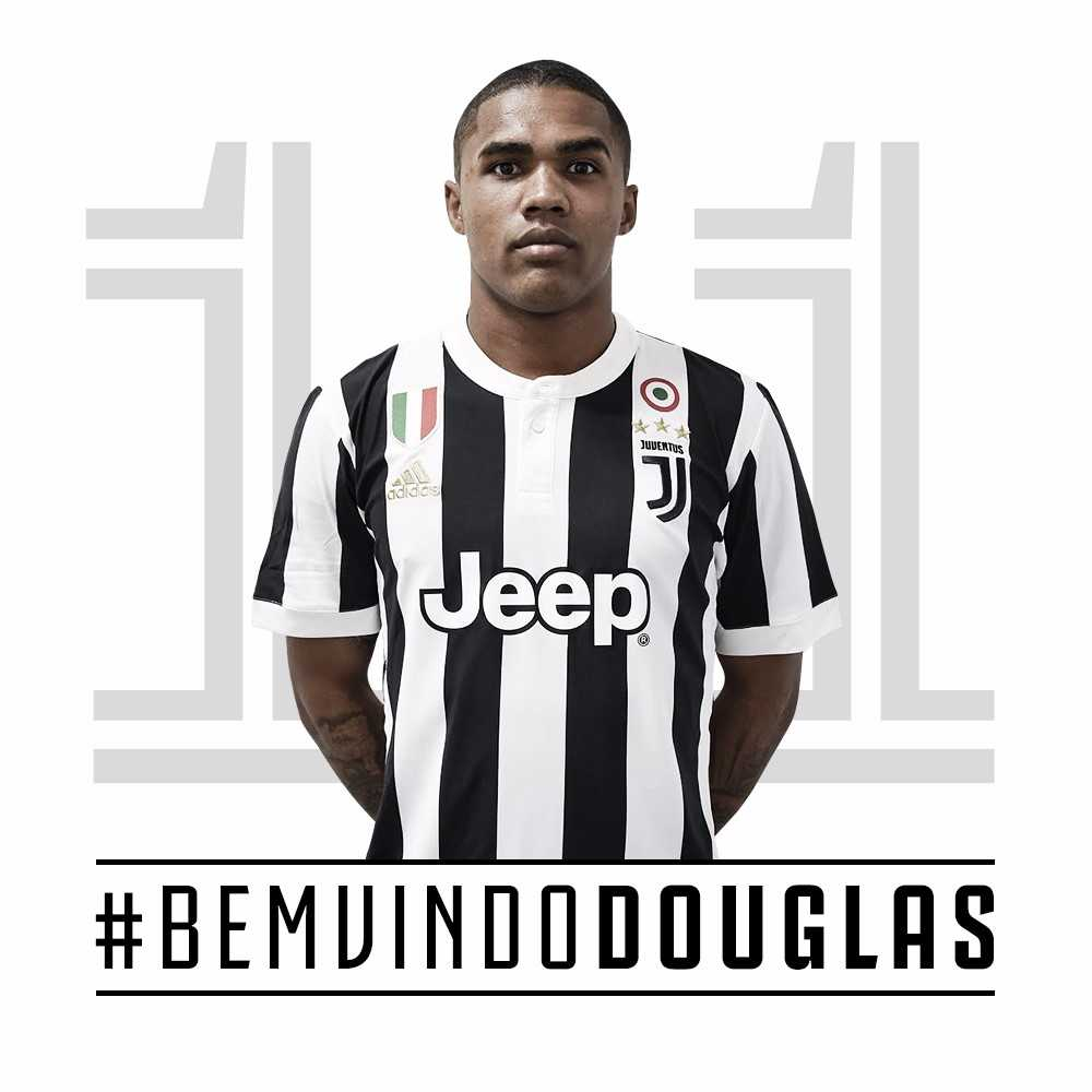 Agora é oficial! Douglas Costa na Juventus!
