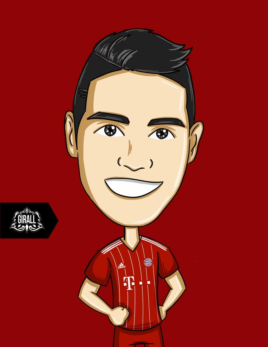 Andres Giraldo On Twitter James Jamesrodriguez Bayern Design