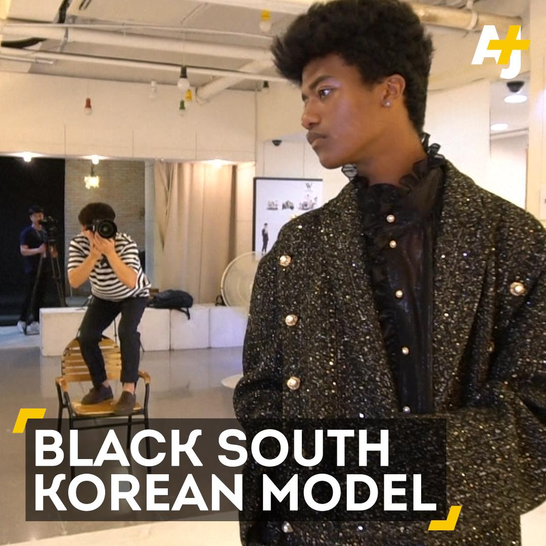 South Korean's first black fashion model is 🔥🔥🔥