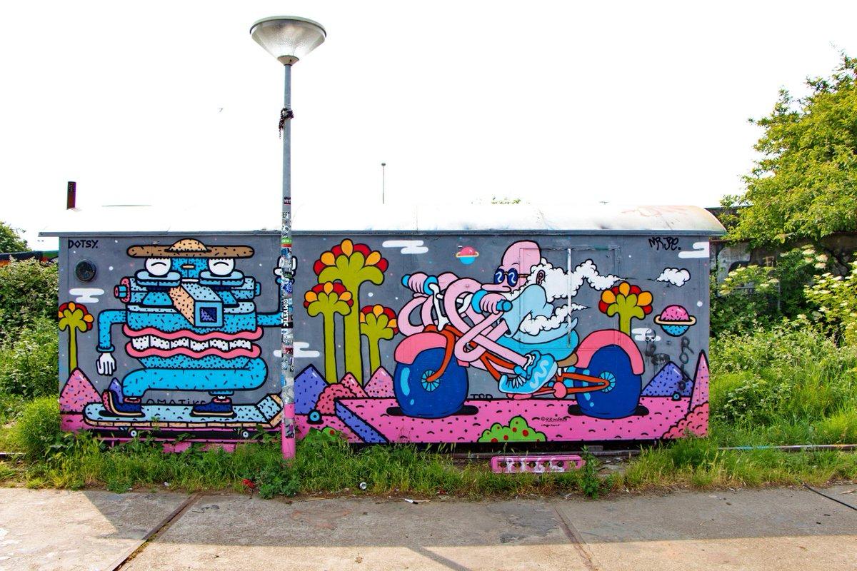 Roed Streetart On Twitter Streetart Graffiti Mural Mobile Home