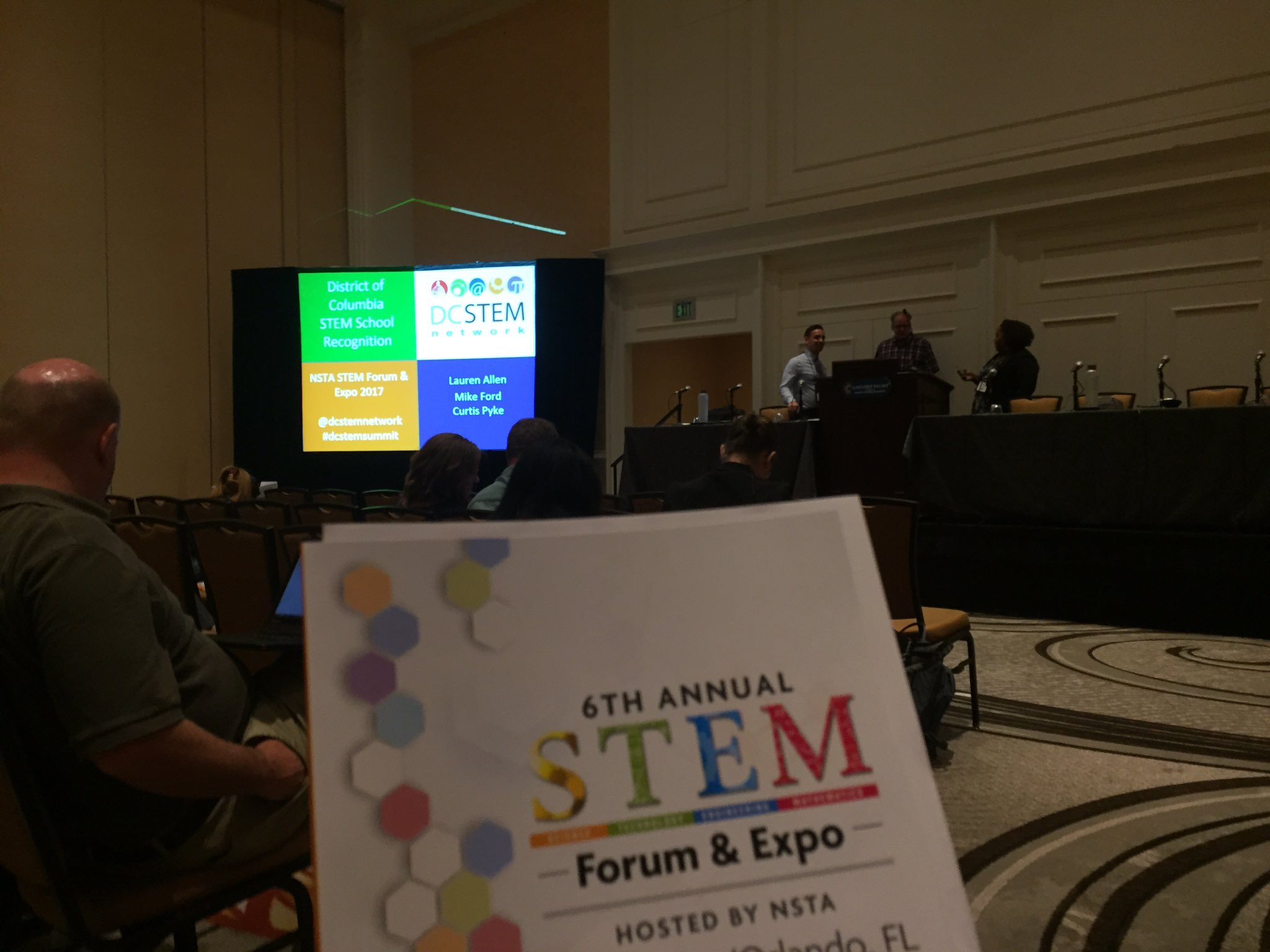 STEM School recognition #NSTA17 https://t.co/ggs5g4YhPr