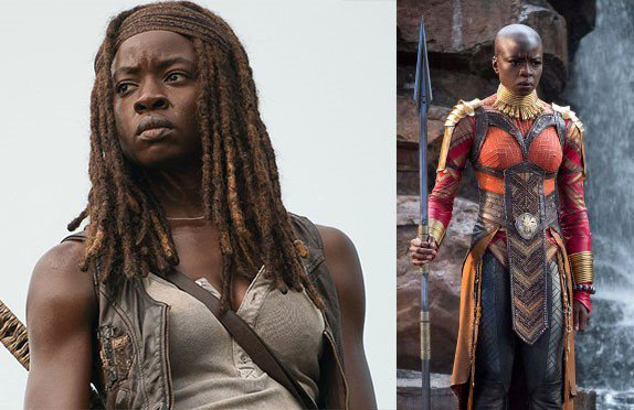 #BlackPanther – Whether she's Michonne or Okoye, @DanaiGurira is always fabulous!   #TWDFamily https://t.co/axDggunzch