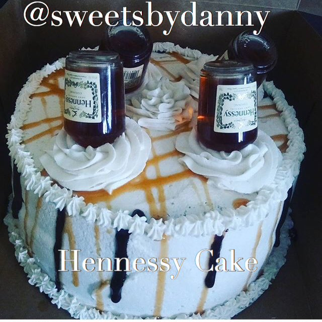 Sweets By Danny On Twitter Hennessy Cake Hennessy Cake Hennessy