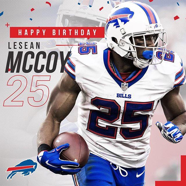 Buffalobills: Shaaaaady! Happy 29th birthday to LeSean McCoy!