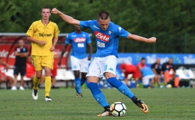 Napoli-Bassa Anaunia 17-0: Mertens segna 6 gol in 45 minuti