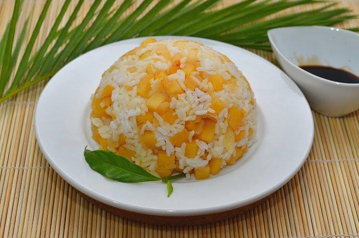 Рецепт рис с кальмарами