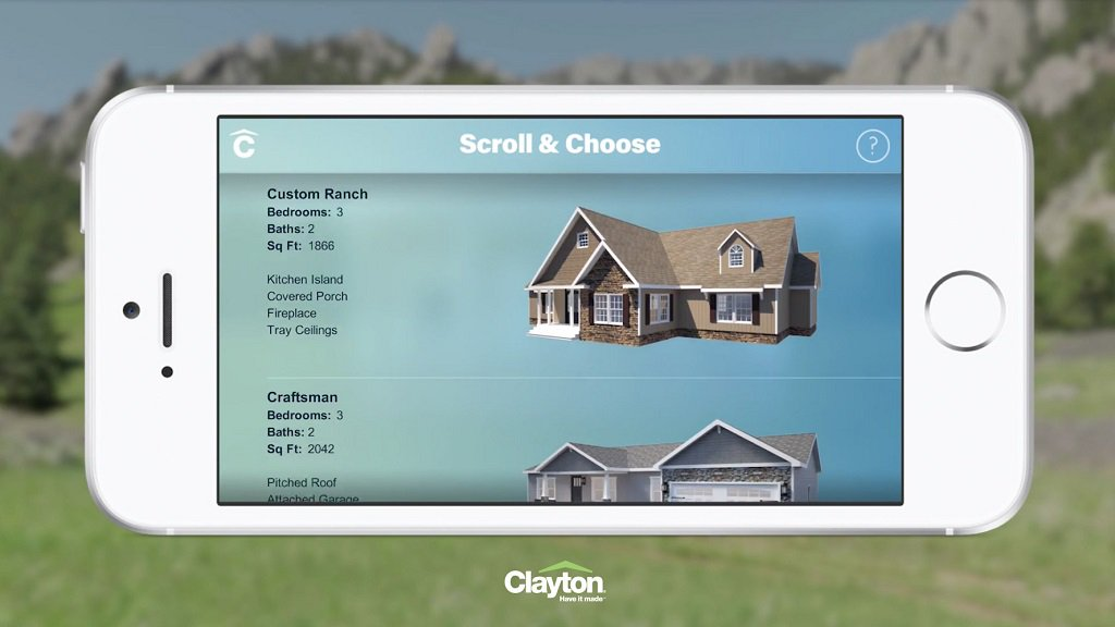 Clayton Homes Release AR App Home Previewer for iOS – VRFocus