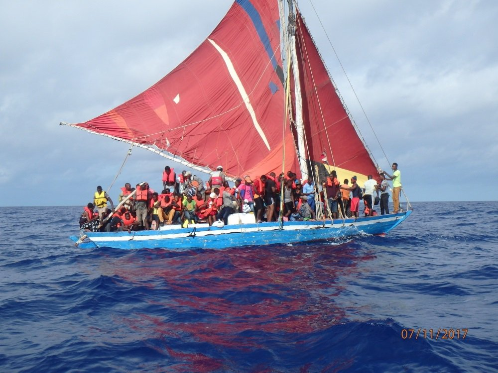 More than 100 Haitian migrants on crowded boat rescued and repatriated https://t.co/4kR0FVQZS5