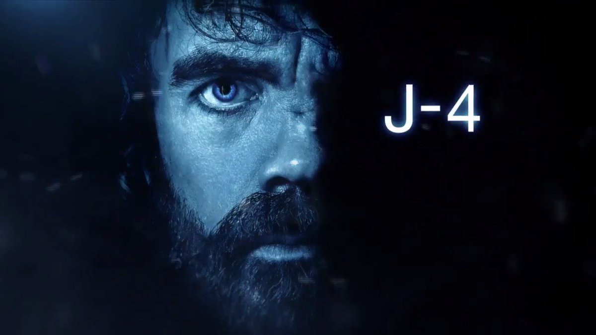 J-4. #GameofThrones RT si vous avez hâte de retrouver le plus illustre représentant de la maison Lannister ! #OCSGOT