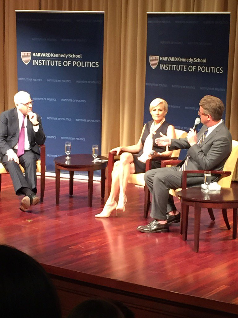 Sold out Harvard crowd for the three newest IOP Fellows @HarvardIOP  in DC @Morning_Joe https://t.co/N220gJruKe