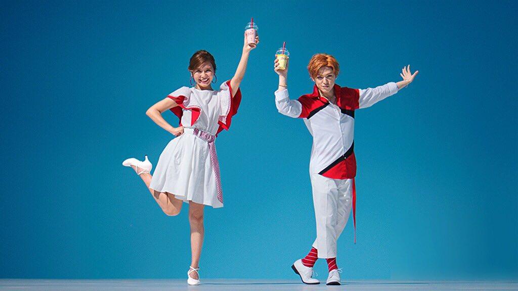 【宇野実彩子&末吉秀太 出演!!】  本日から2人が出演するケンタッキー「 #krushers 」のTVCMが全国でOA開始しました ✨  krushers.kfc.co.jp ⬆︎WEB限定動画も公開中 ☀️  #クラッシュダンス 、是非チェックしてみてください ♪