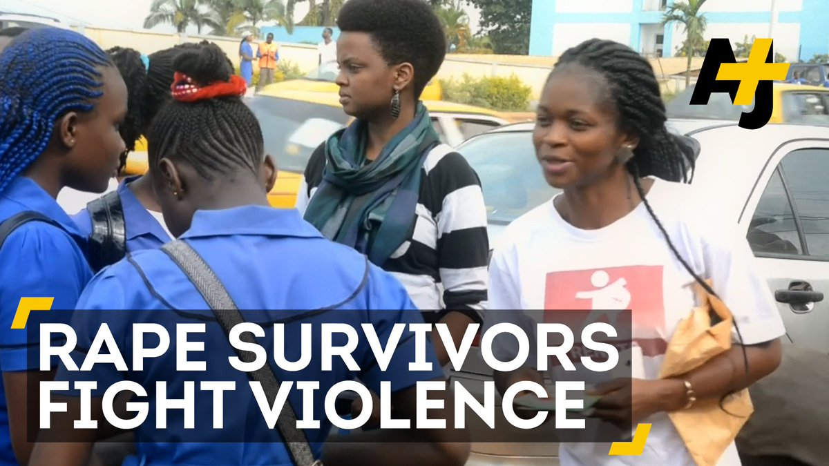 RT @ajplus: These aunties are fighting violence against women and girls in Cameroon. https://t.co/VG0N2lz8na