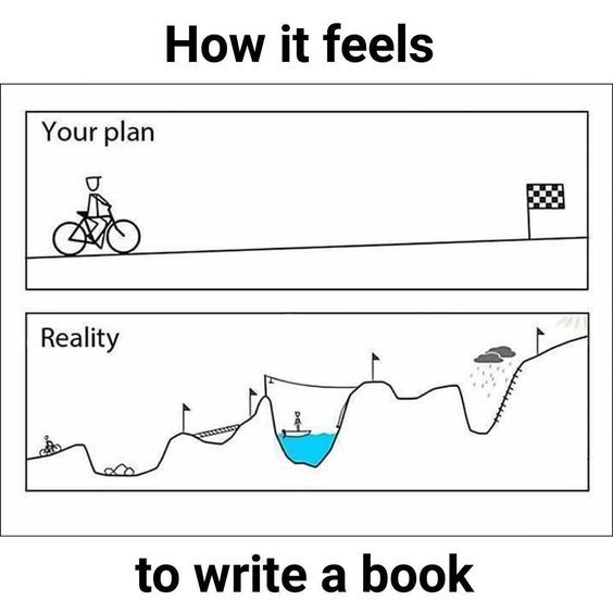 How it feels to write a book