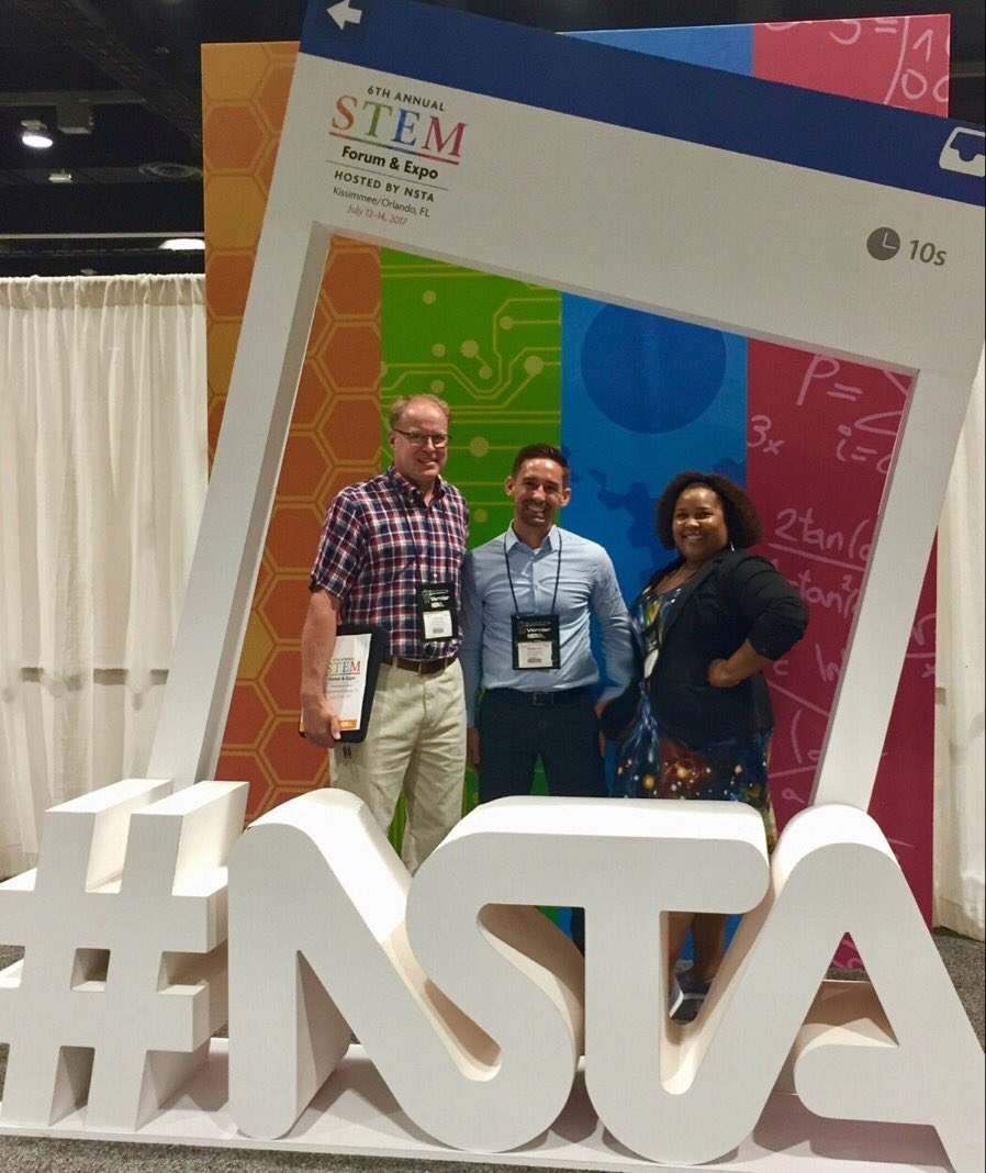 Thanks for supporting our session @STEMx ! It was really exciting see others so psyched about #STEM schools🤓#STEMForum https://t.co/4FqeLiB7Z5