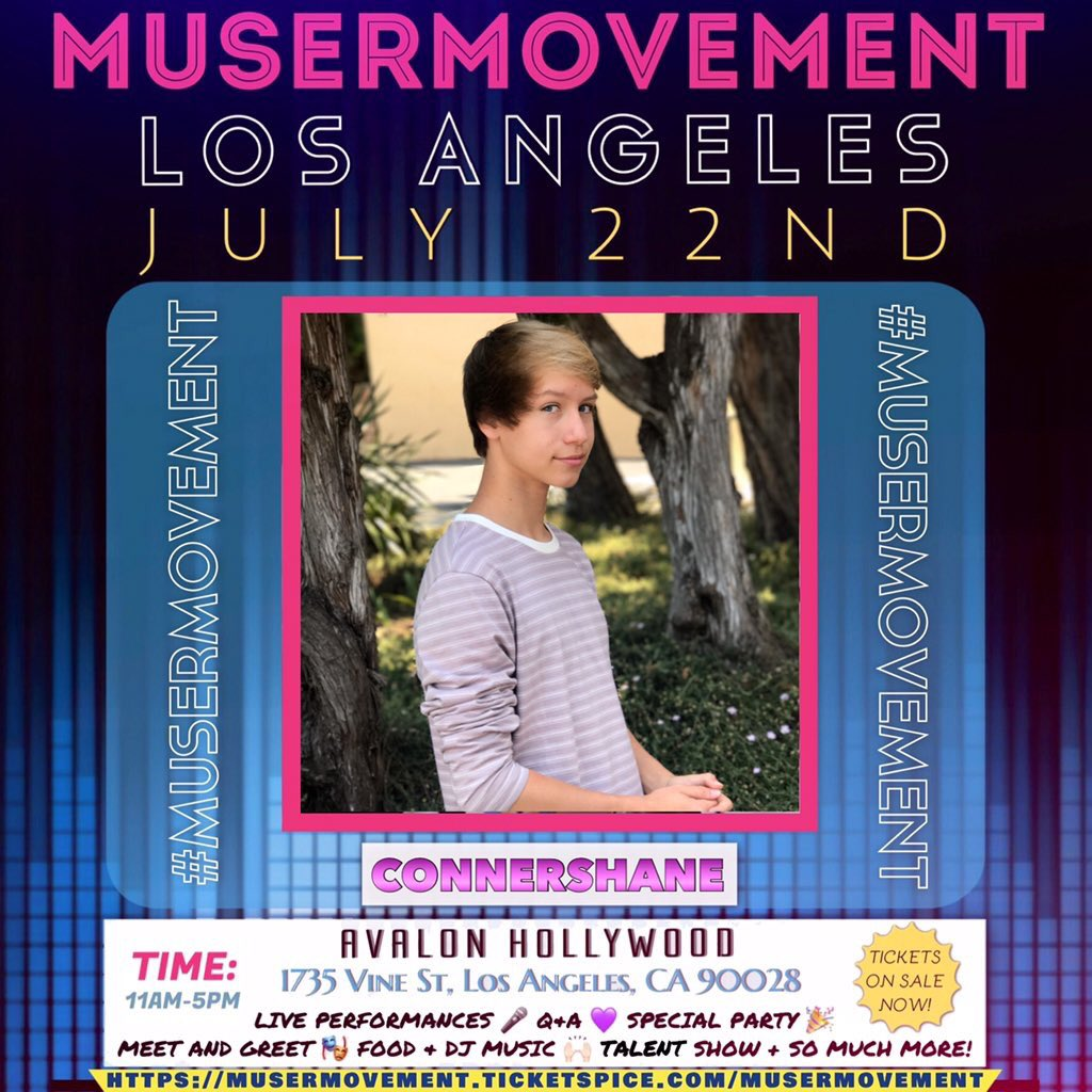 Musermovement on twitter so flipn excited to have young model musermovement on twitter so flipn excited to have young modelgymnastathletesocial influencer connershane attend musermovement la his m4hsunfo