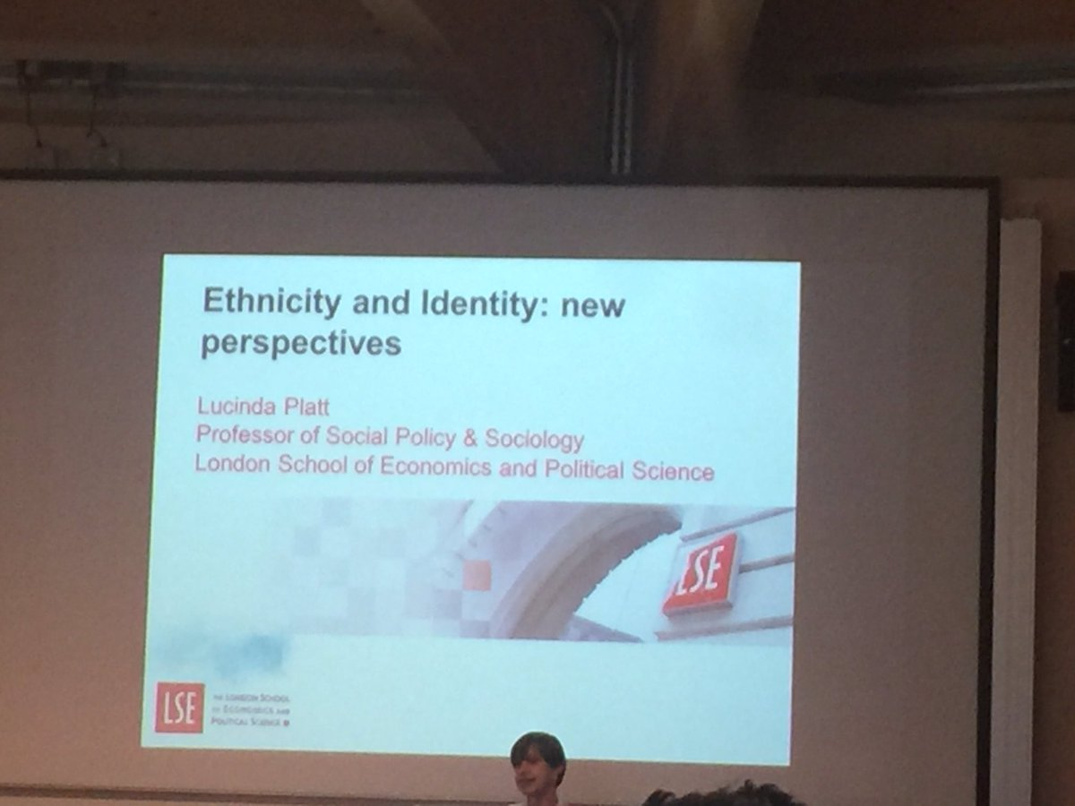 New perspectives for thinking about ethnicity and identity. Final Plenary presentation @usociety @Essex_EBS #usociety17 <br>http://pic.twitter.com/WEHQYvCSKY