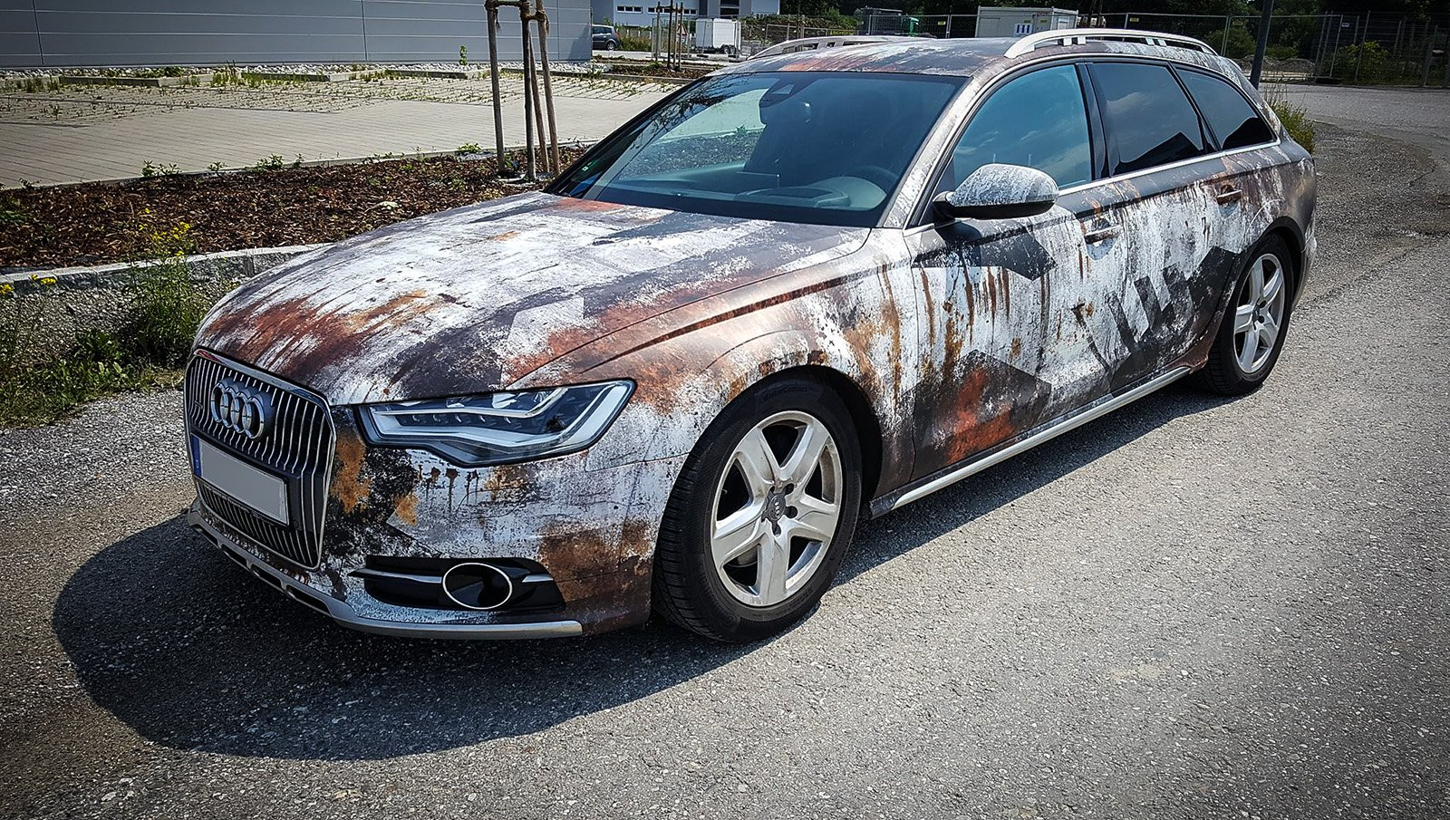 Alexander On Twitter Quot Rusty Audi A6 Wrapped Shiny