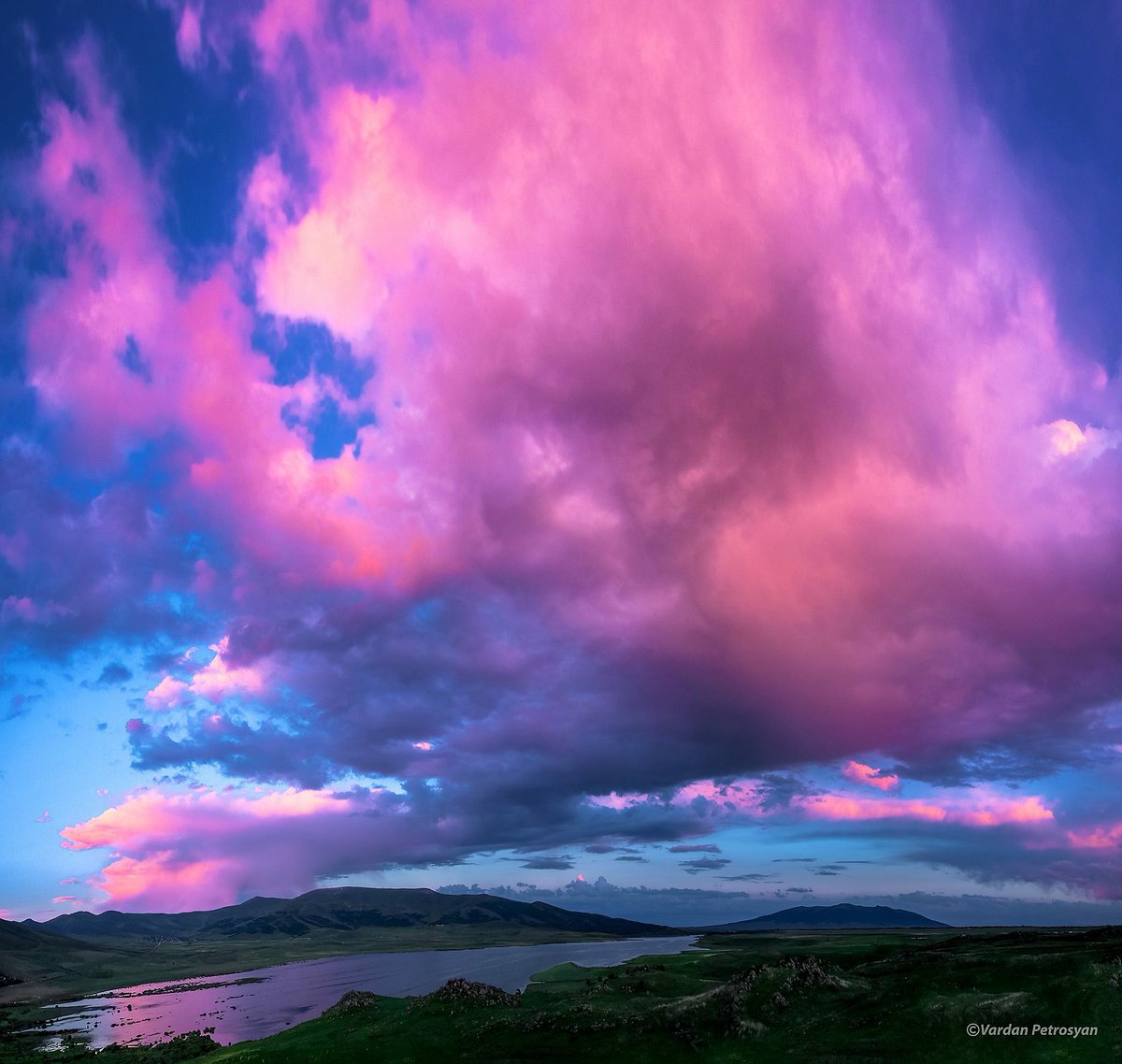 картинки с облаками розовыми