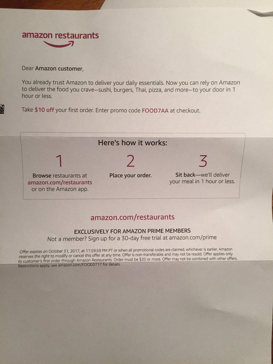 Amazonrestaurants Hashtag On Twitter