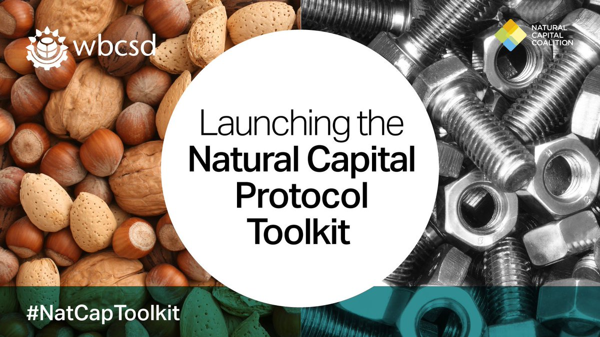 Launching the #NatCapToolkit: helping biz find tools to measure & value natural capital https://t.co/kIh7k2yFVf https://t.co/uKKGSDoAux
