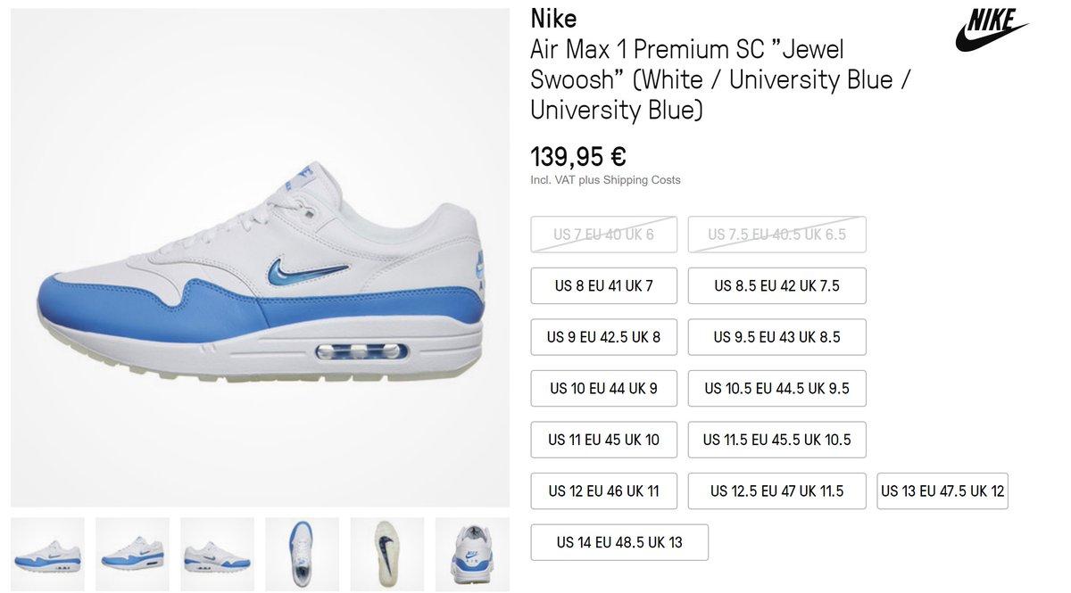 Nike Air Max 1 Premium Us12,5 Eu47