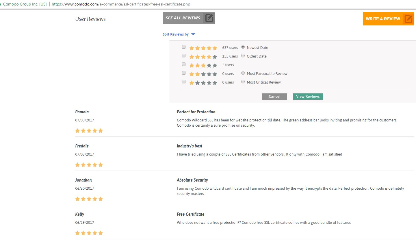 Emma lilliestam on twitter these customer reviews for comodos emma lilliestam on twitter these customer reviews for comodos trial certification does not seem legit to me i dont think they were written by xflitez Gallery