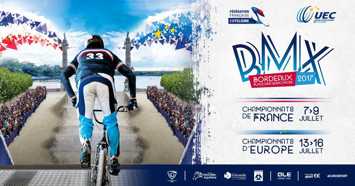 Bordeaux est ce week-end la capitale européenne du #BMX : https://t.co/UDwT4Y2st6 #EuroBMX17