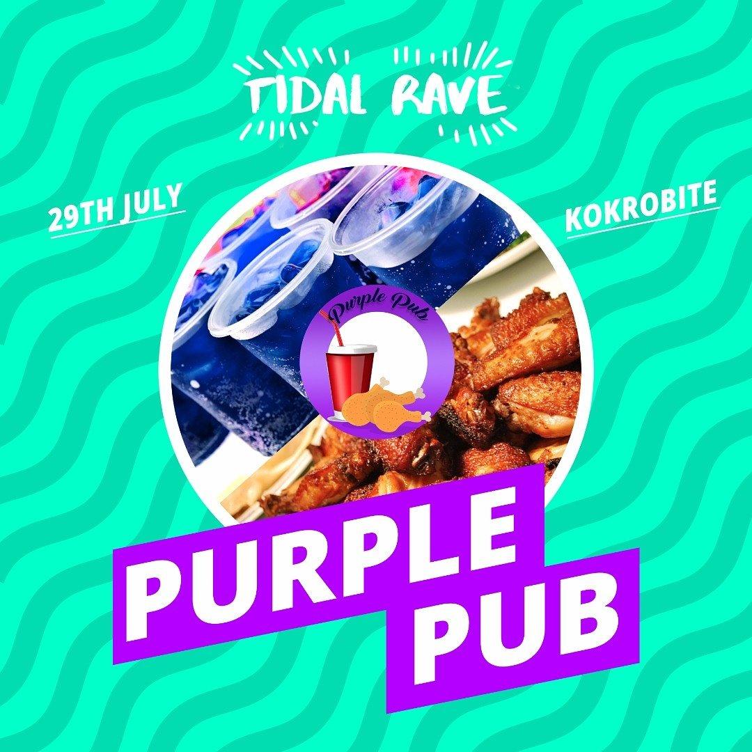 Image result for tidal rave purple pub