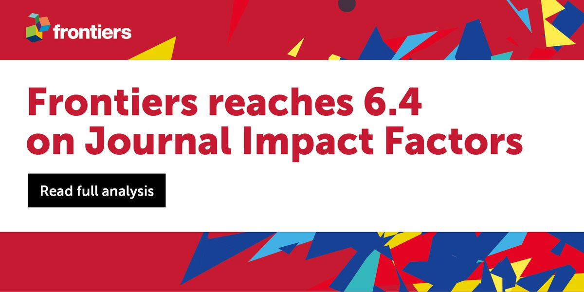 Frontiers journals in the top #ImpactFactor Percentilesand citations @clarivate  http:// fron.tiers.in/go/ofQwyu  &nbsp;  <br>http://pic.twitter.com/XWzaFxY41E