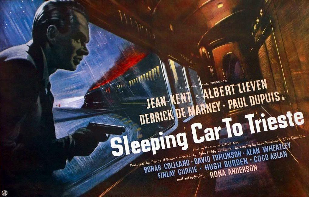 Sleeping Car to Trieste(1948) UK poster