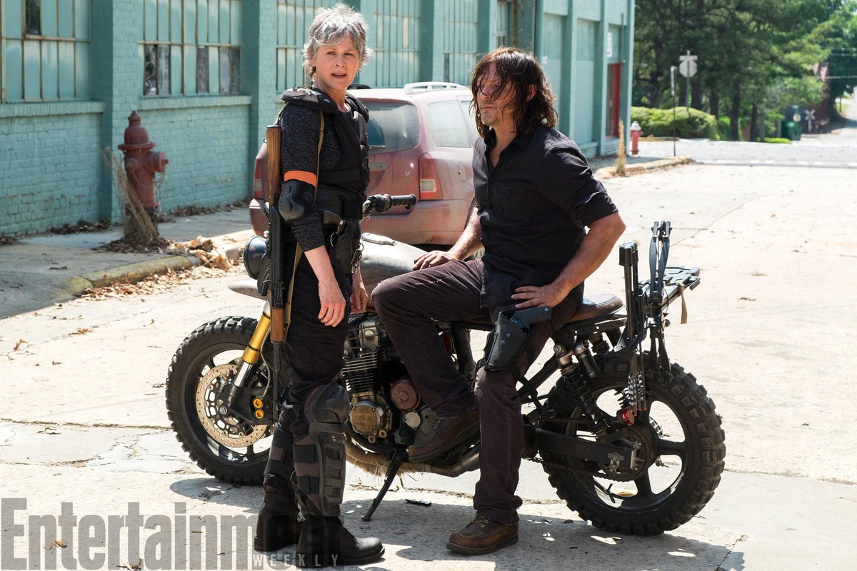 The first exclusive photo from #TWD Season 8 shows Daryl and Carol reunited...  http:// ew.com.convey.pro/l/JBgE95g     by #WalkingDead_AMC via @c0nveypic.twitter.com/hRMFLS0HwC