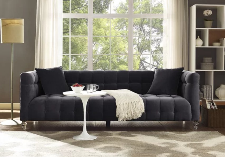 Top 7 Dark Gray Sofas For Luxury Home