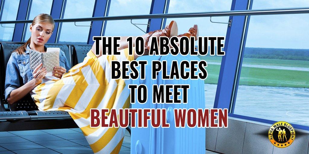 This is a good read: The 10 Absolute Best Places to Meet Beautiful Women  http:// ow.ly/zkEX30dAzbK  &nbsp;   #BeautifulWomen #IAmAlpha #Dating<br>http://pic.twitter.com/tDrKNomhfJ