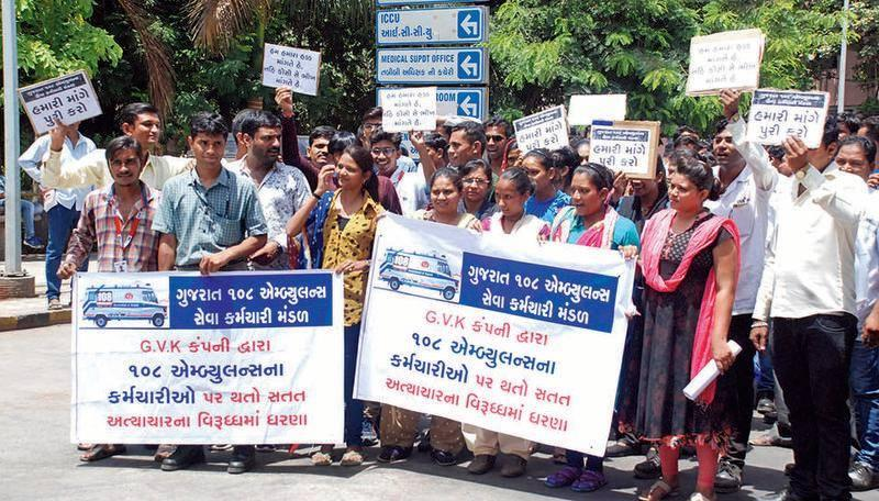 108 services strike: Gujarat government toughens stand, invokes ESMA