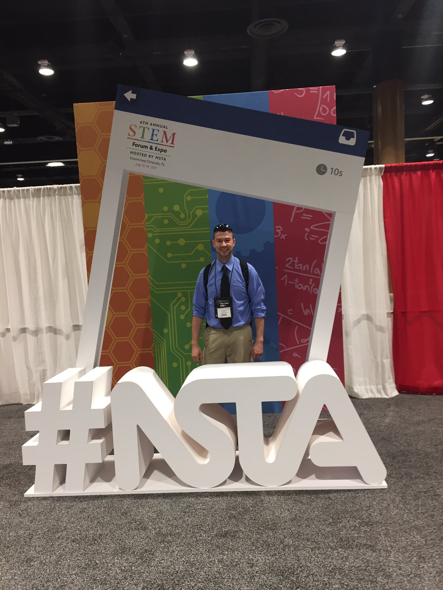 Day two, pumped for more sessions (PV=nRT) 😂 #STEMForum https://t.co/zXmBQgwXGQ