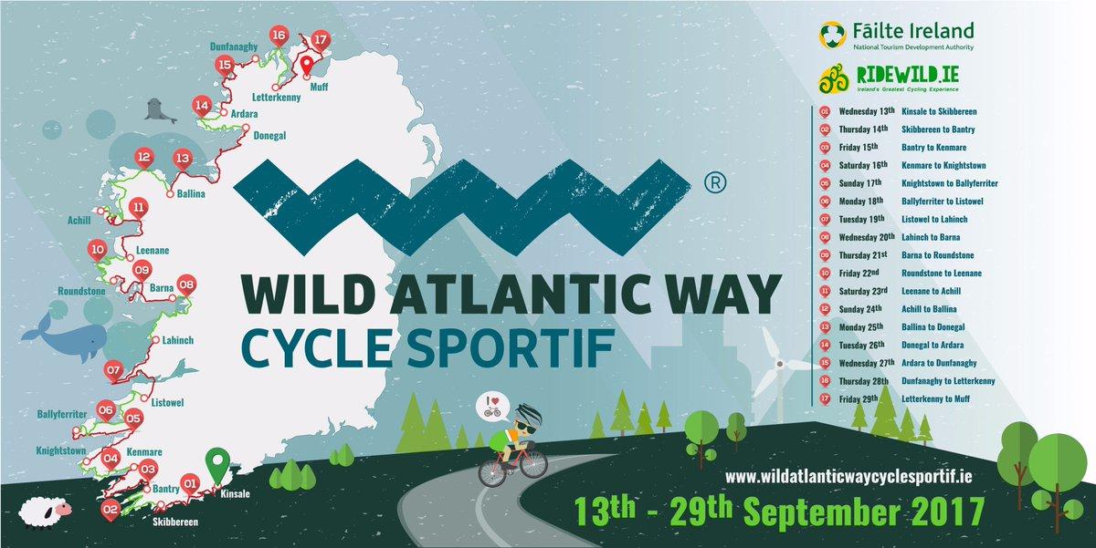On your bike! New @wildatlanticway cycling event set to boost rural communities off-season.. https://t.co/5WW33cPmey https://t.co/3YvUl9M0Do