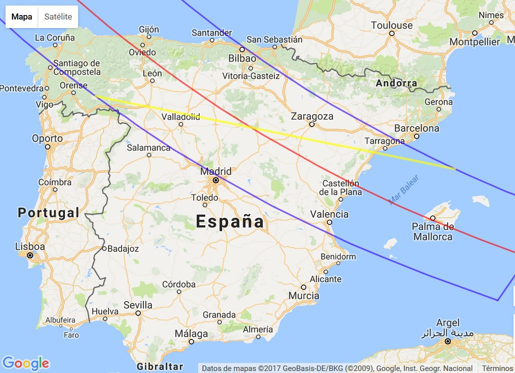 "Planetario de Madrid no Twitter: ""#Curiosidades habrá que esperar al 12 de  agosto de 2026 para ver un eclipse total de Sol desde España..…  https://t.co/zVgpRxWWr8"""