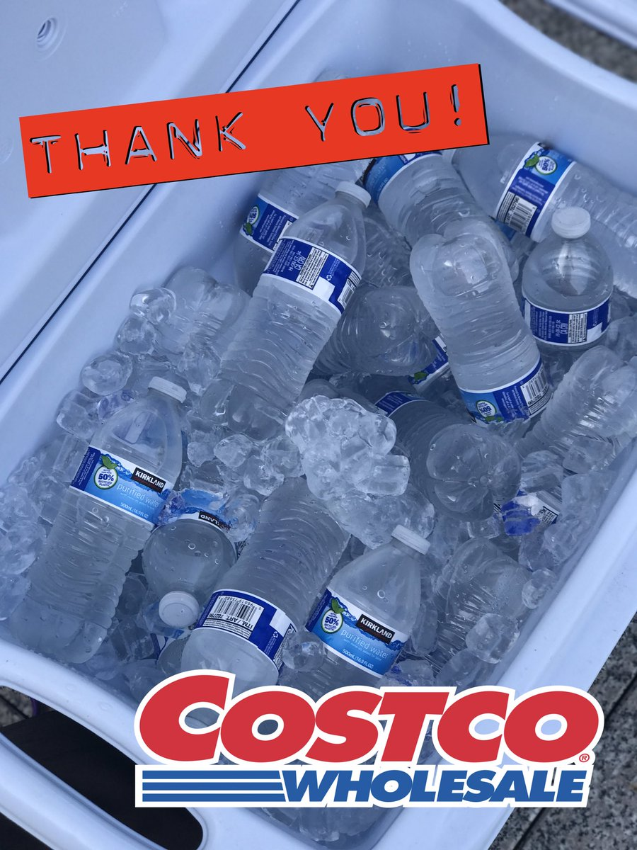 wvlt news on twitter big thankyou to the knoxville costco for donating water to our ettac toy drive stayhydrated 90plusdegrees
