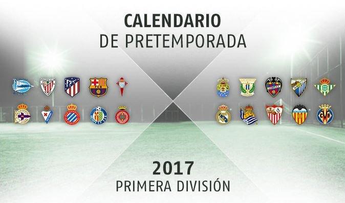 a0761654035a0 TODOS los partidos de pretemporada de los equipos de la Liga 2018 ...
