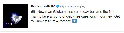 Chuffed for my mate @lukemcgee at joining Portsmouth....he'll be a big loss to the CNN opinion desk.  #Pompey #THFC https://t.co/HFOXO8GR3F