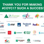 We warmly thank all of you, supporting #JACompany programme at #CoYC17  #Entrepreneurship is now! #Brussels #Europe #SwitchOnEurope