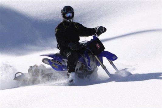 Cómo convertir tu #moto en una moto de #nieve... https://t.co/WfnJ1iBQhz #timbersled #nevasport #snowmobile