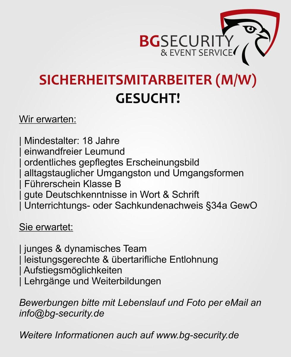 0 replies 0 retweets 0 likes - Bewerbung Sicherheitsdienst