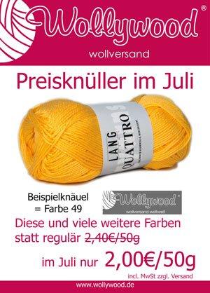 Aus unserem #WollyBlog Lieblingsbaumwollgarn als Qualität des Monats http://www.wollywood.de/blog/?p=2507 #LANGYARNS #quattro #baumwollgarn #diy #SALE