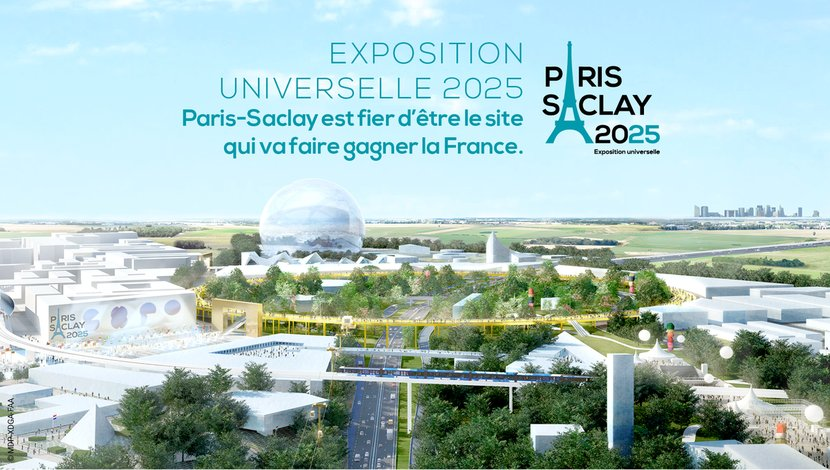 "Félicitations à <a href=""https://twitter.com/ParisSaclay2025"" target=""_blank"">@ParisSaclay2025</a> désigné par le GIP <a href=""https://twitter.com/ExpoFrance2025"" target=""_blank"">@ExpoFrance2025</a> pour faire gagner la France ! <a href=""https://t.co/VM3f7VIvP7"" target=""_blank"">bit.ly/2uia9io</a><a href=""https://twitter.com/hashtag/Expo2025?src=hash"" target=""_blank"">#Expo2025</a> <a href=""https://twitter.com/hashtag/CCIE?src=hash"" target=""_blank"">#CCIE</a> https://t.co/Sv1KtETN8N"